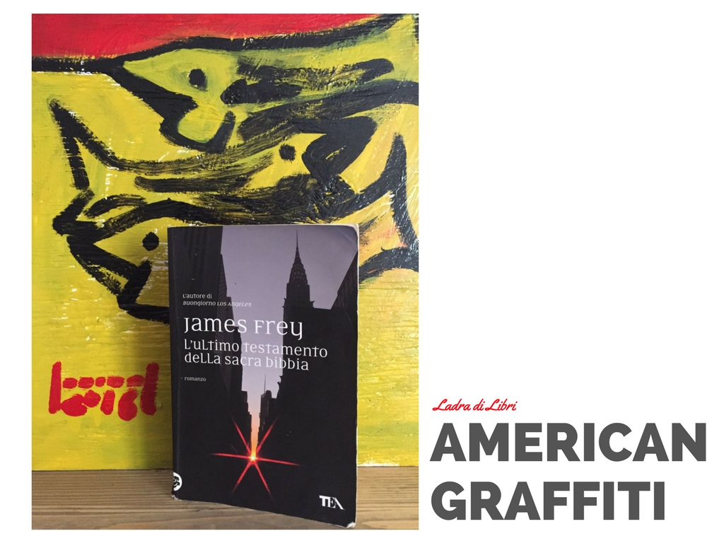 American Graffiti: James Frey (by paolo boriani)