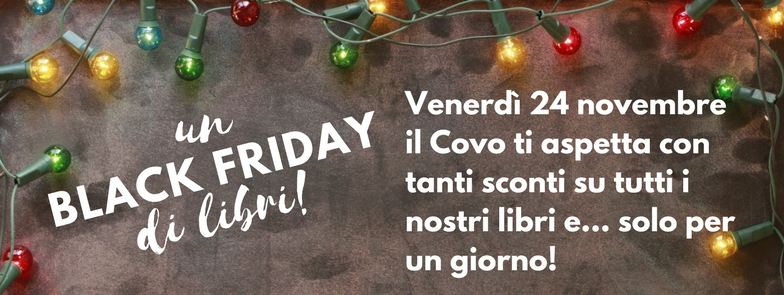 Black Friday in libreria: fai il pieno di libri!