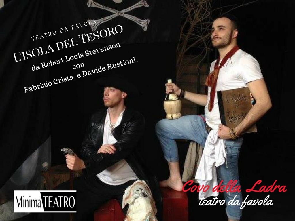 L'isola del Tesoro | Un teatro da favola – sabato 10 febbraio