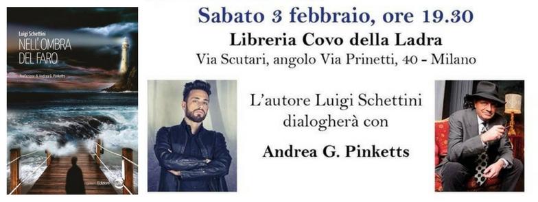 Presentazione – Nell'ombra del faro di Luigi Schettini con Andrea G. Pinketts!