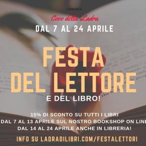 Dal 7 aprile è una festa per tutti i lettori!