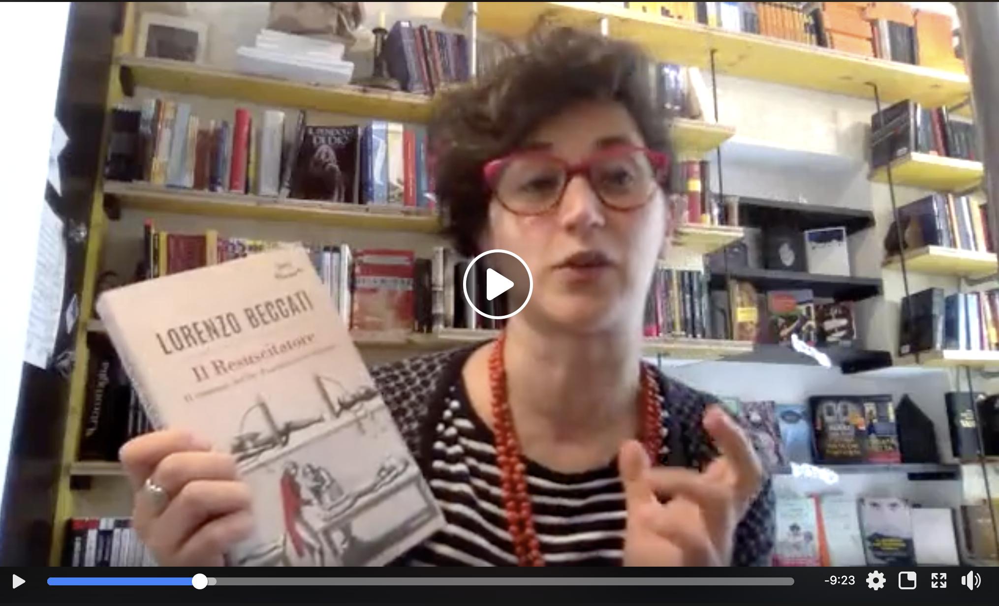 Il Resuscitatore di Lorenzo Beccati #LibroConsiglio