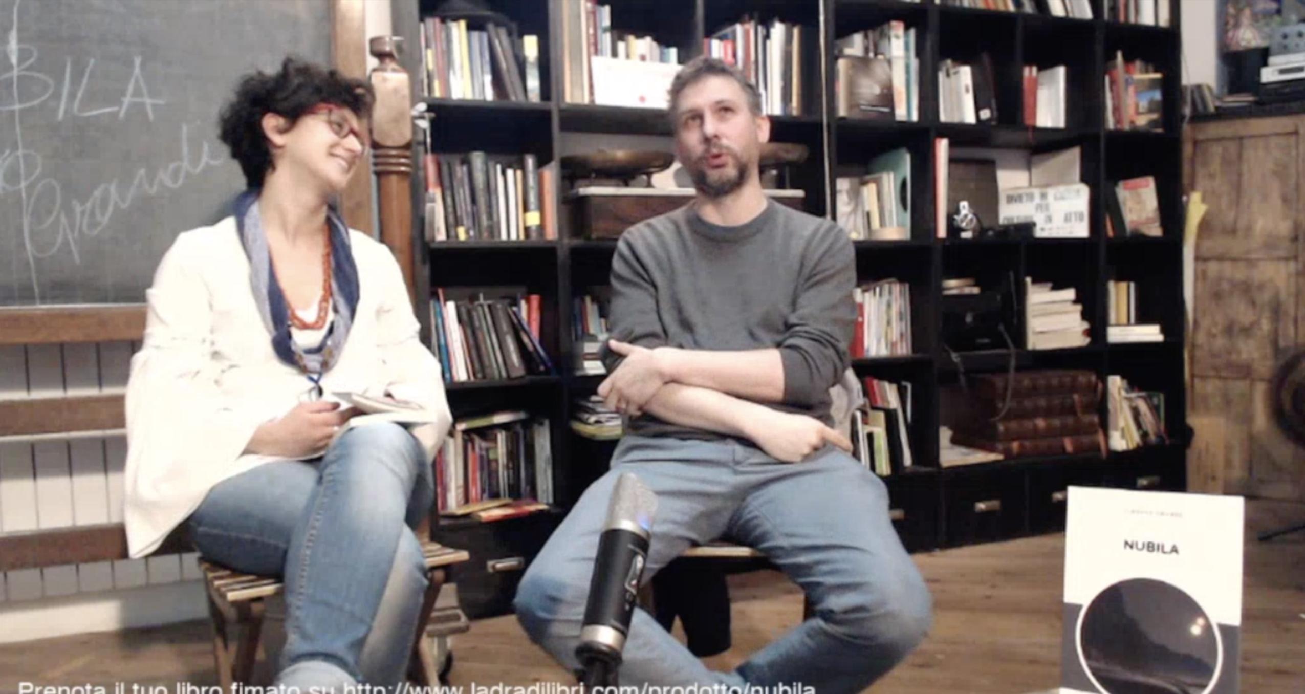 #LibriInDiretta con Nubila di Alberto Grandi