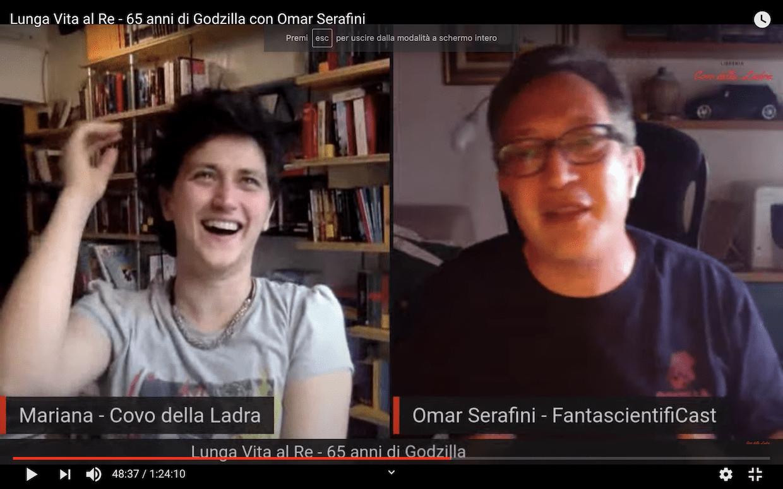 Lunga Vita al Re – 65 anni di Godzilla con Omar Serafini