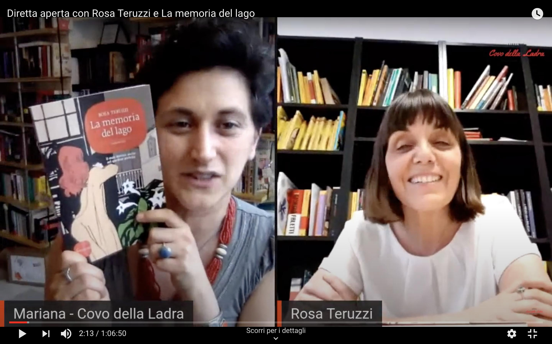 Diretta aperta con Rosa Teruzzi e La memoria del lago