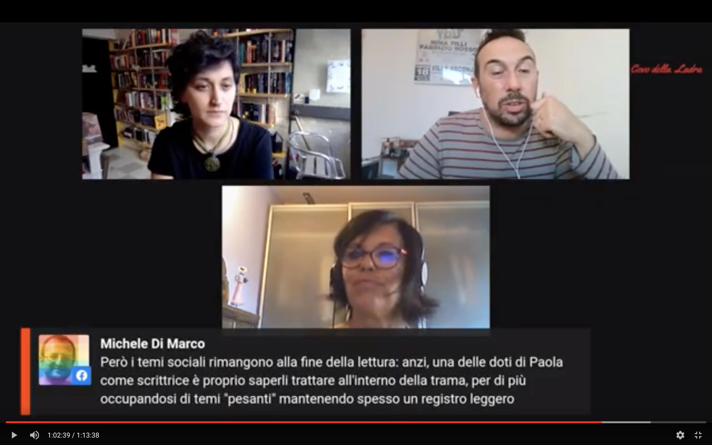 Diretta aperta con Paola Sironi #LaStranaCoppia Talk Show
