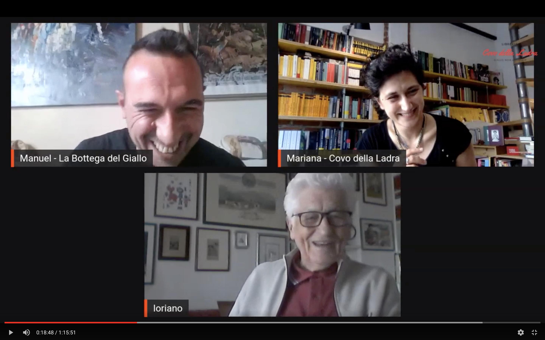Diretta aperta con Loriano Macchiavelli #LaStranaCoppia
