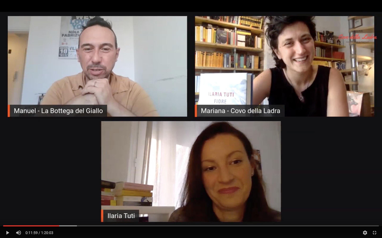 Diretta aperta con Ilaria Tuti #LaStranaCoppia Talk Show