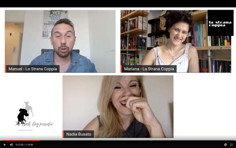 Diretta aperta con Nadia Busato #LaStranaCopxpia Talk Show