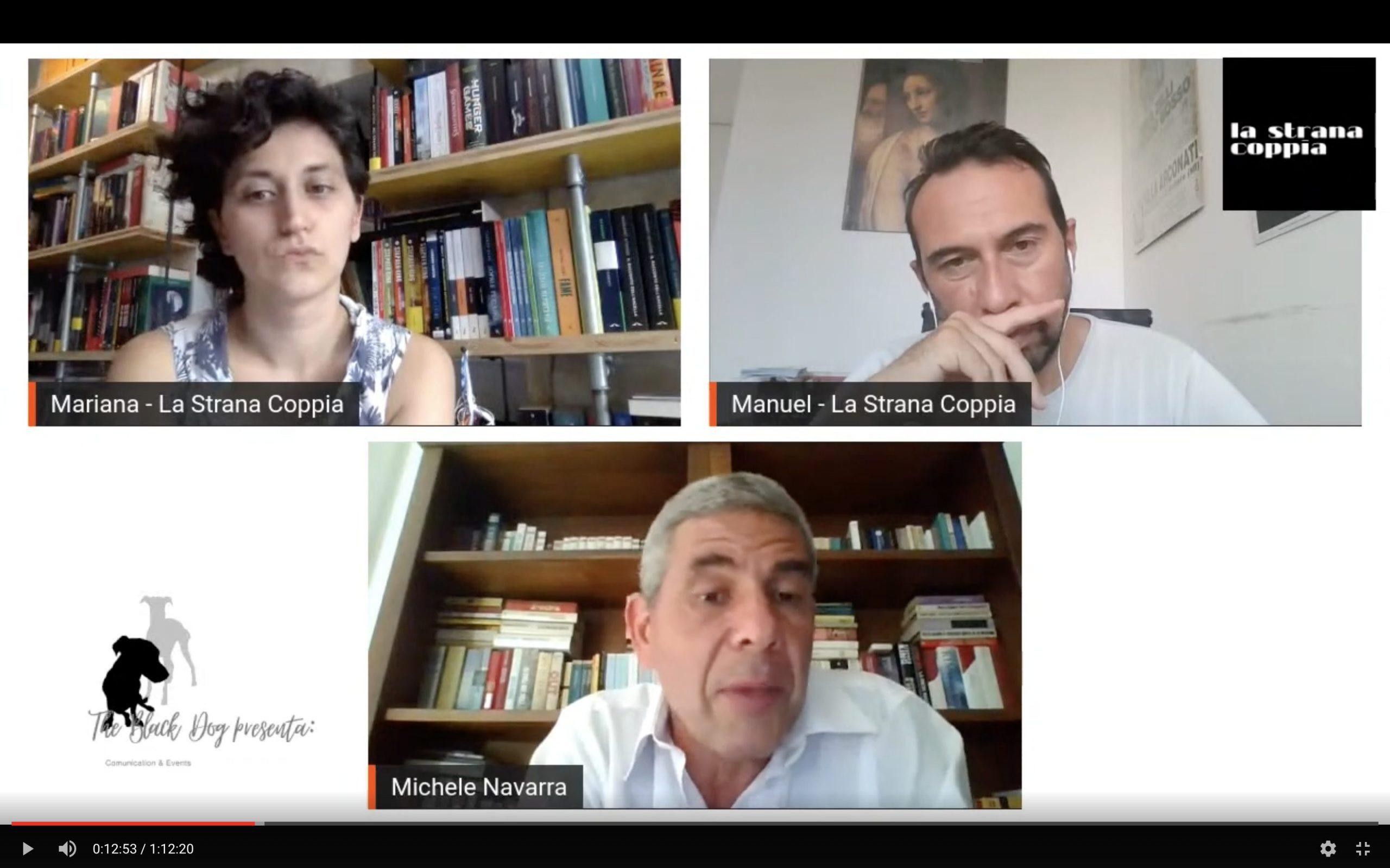 DirettaAperta con Michele Navarra #LaStranaCoppia Talk Show