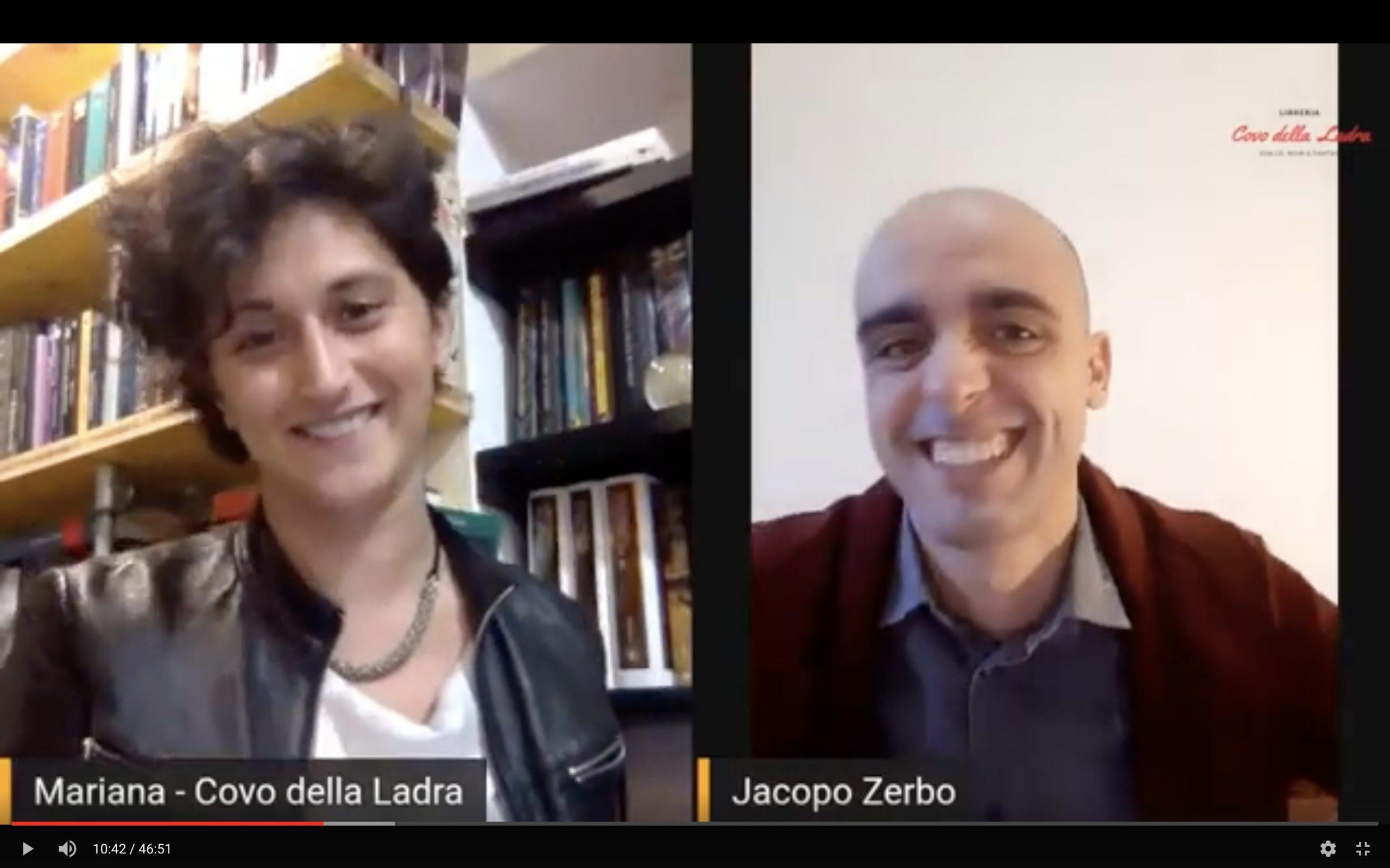 #incipit32 con Jacopo Zerbo e L'estinzione della ruota Bookabook