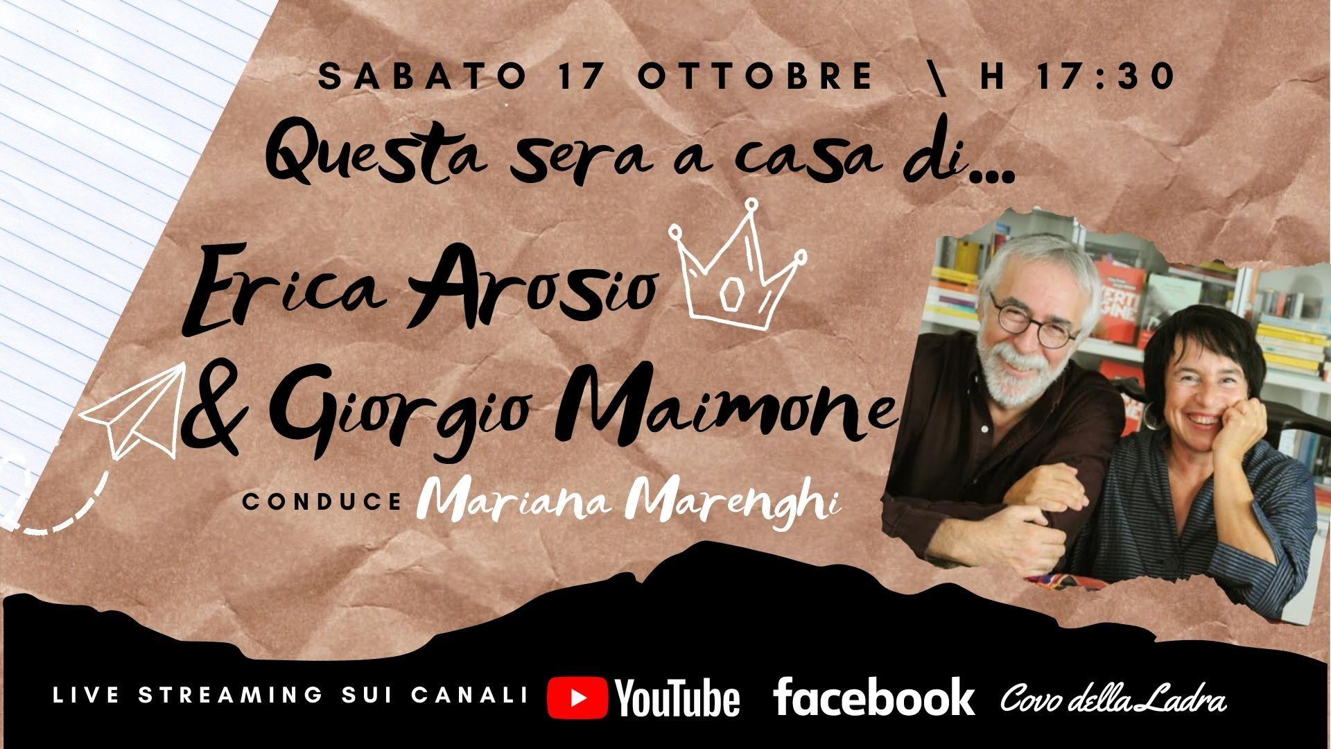 Questa sera a casa di Erica Arosio e Giorgio Maimone