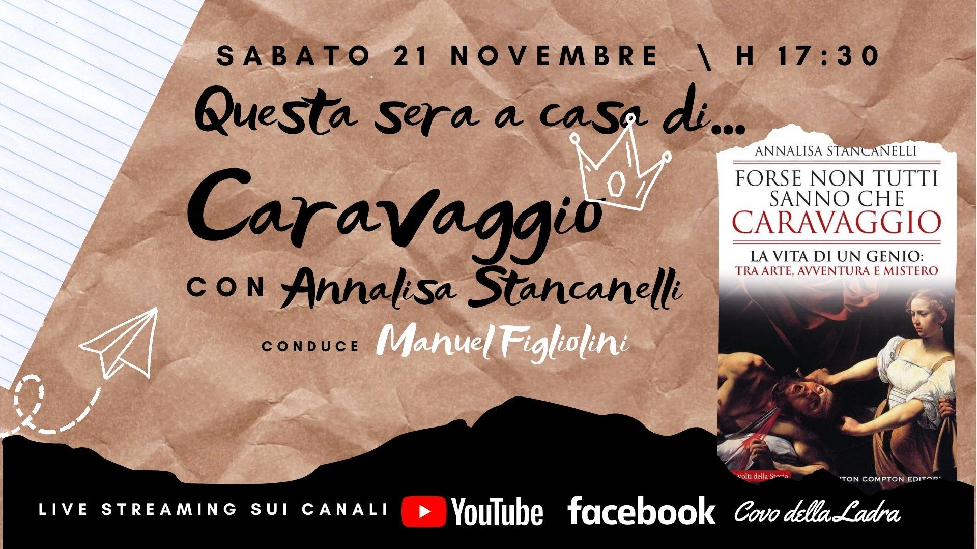Questa sera a casa di… Caravaggio (con Annalisa Stancanelli)