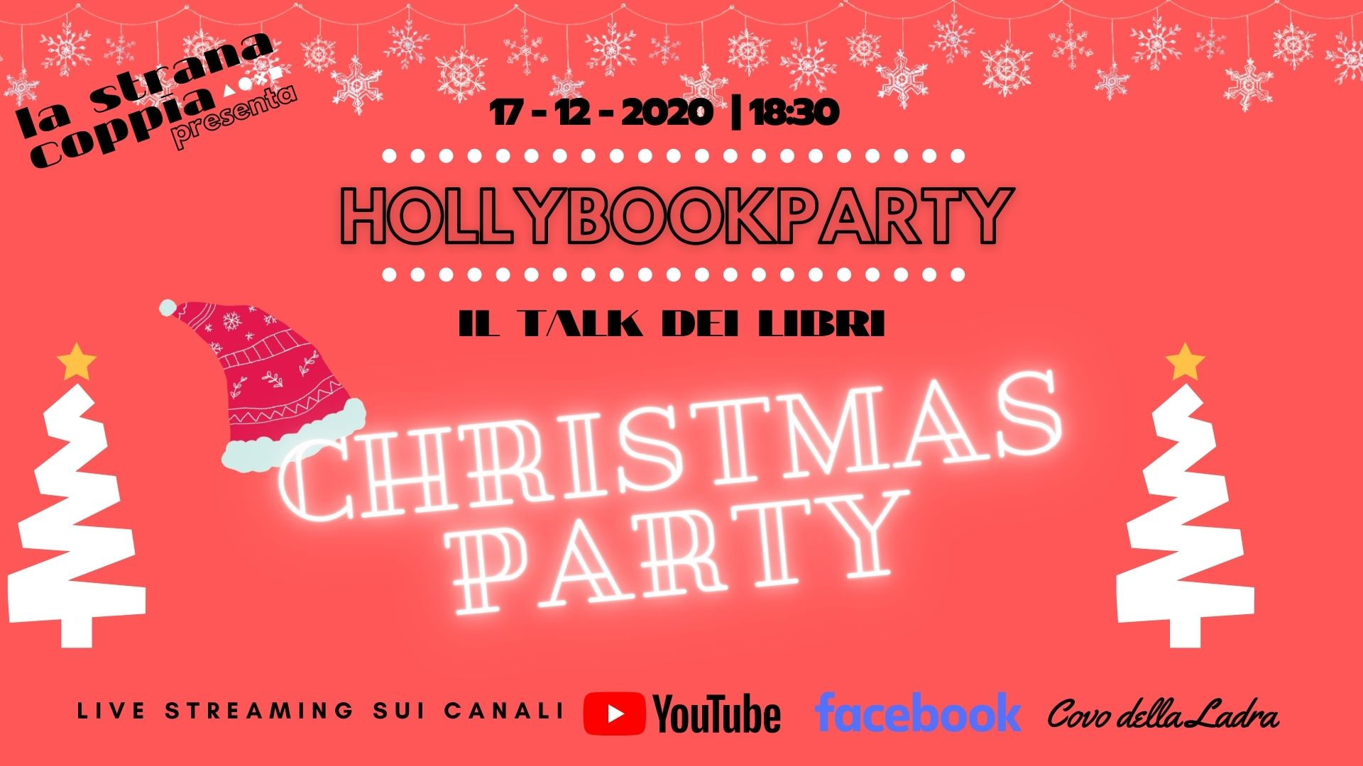 #HollyBook Party Christmas Party