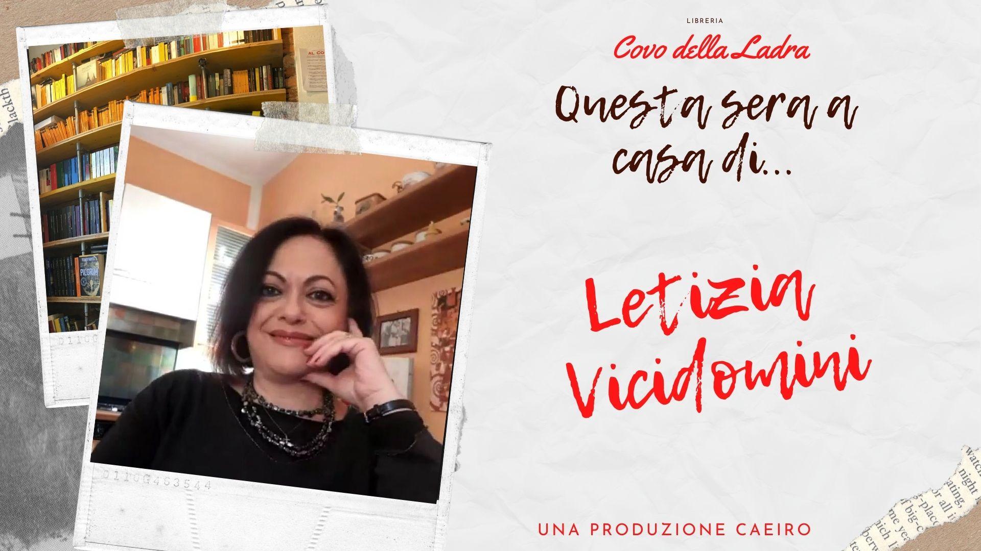 Questa sera a casa di Letizia Vicidomini