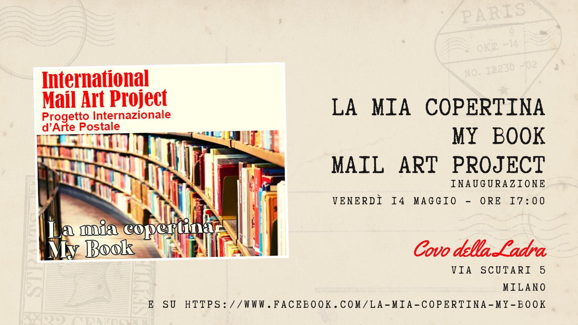 Mail Art Project – My Book – La mostra