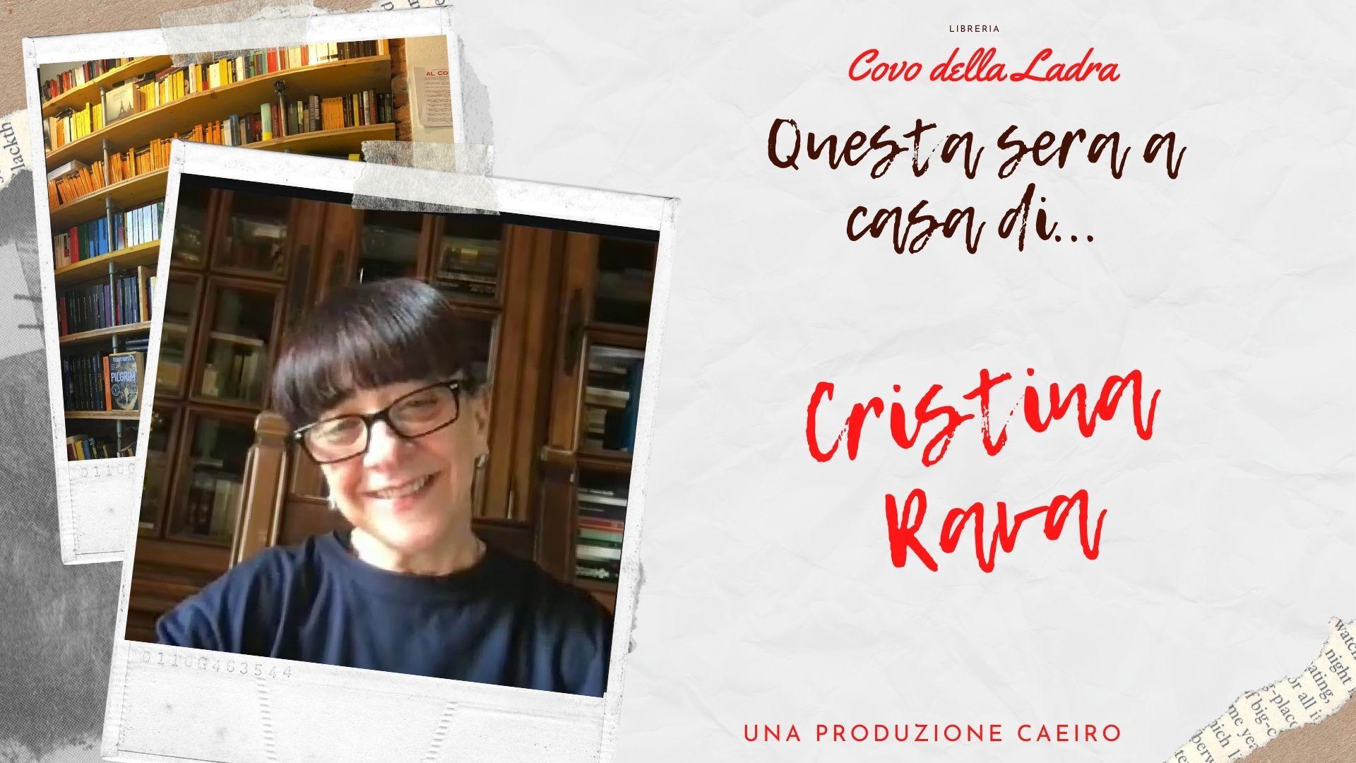Questa sera a casa di Cristina Rava
