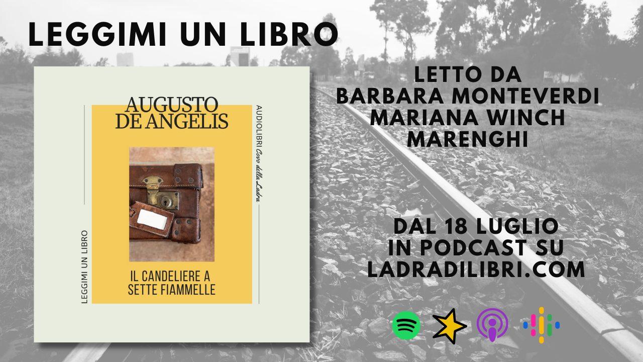Arriva Leggimi un Libro: a puntate con i gialli di De Angelis