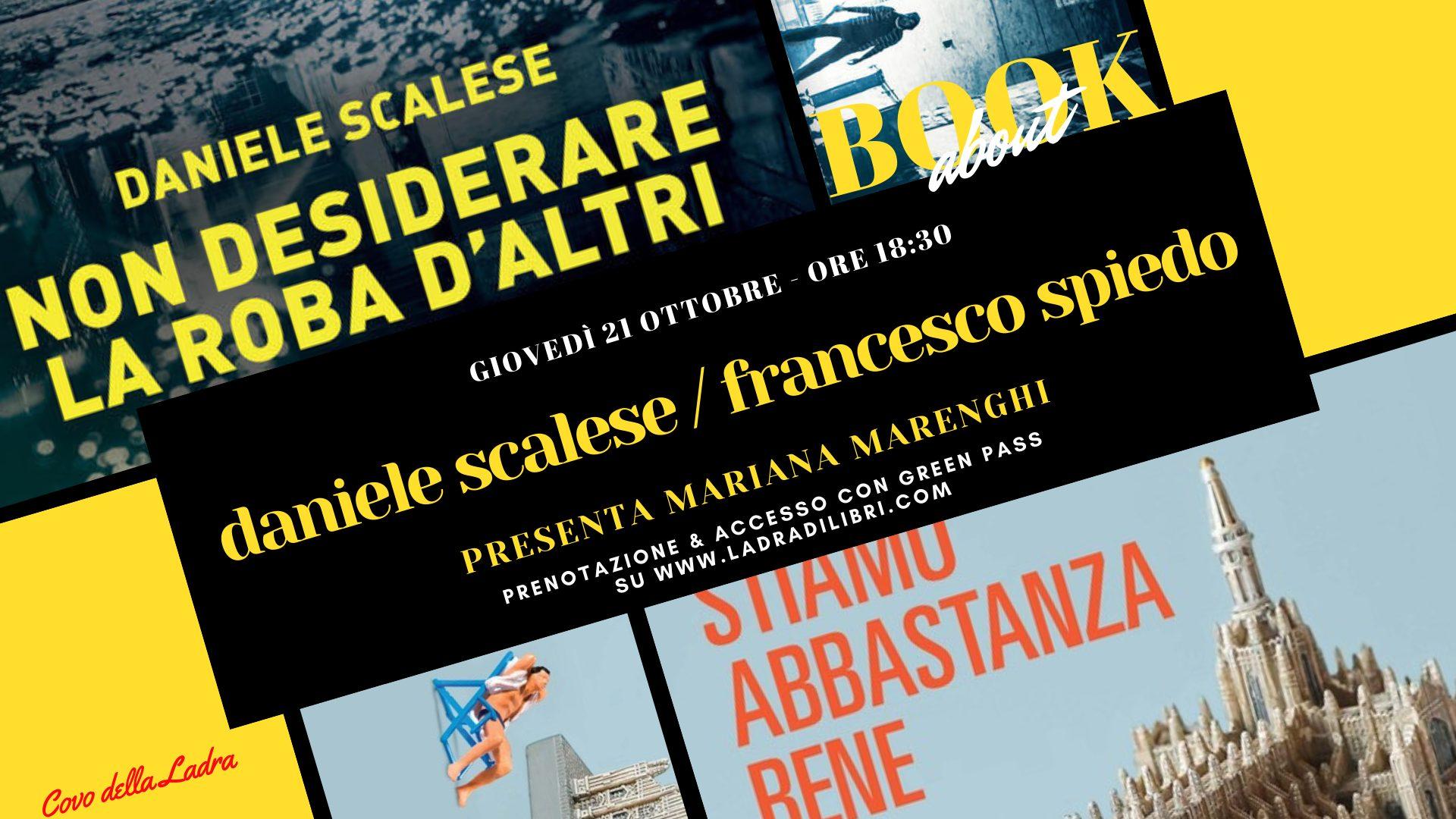 BookAbout con Daniele Scalese e Francesco Spiedo